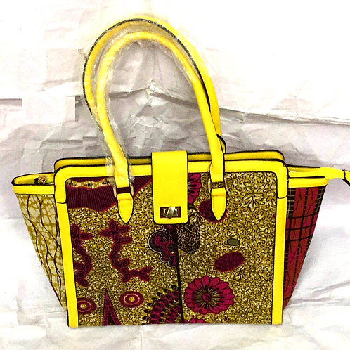 Large Ankara Tote Bag