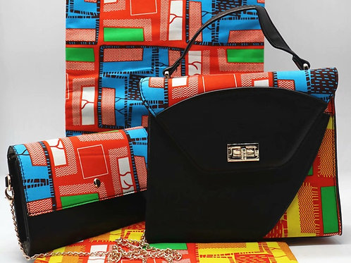 Handcrafted Ankara Cross Bag (Purse Only)