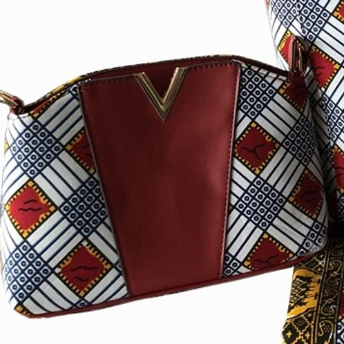 Handcrafted African Print Clutch (1pc)