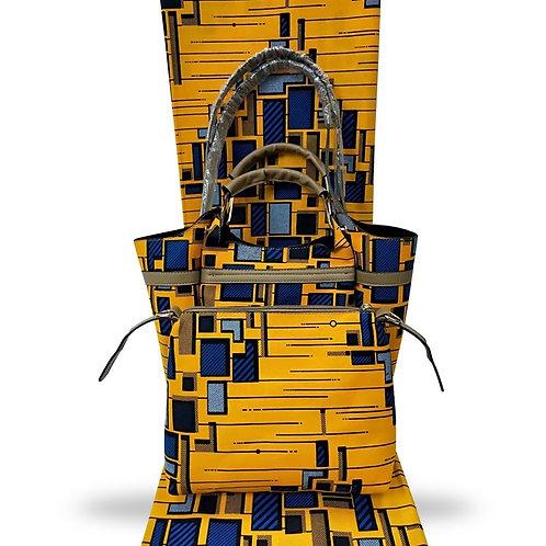 Handmade African Print Handbag