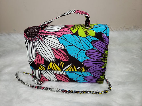 Multi-Color Cross Shoulder Bag