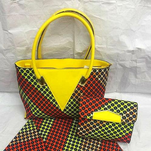Large Ankara Tote Bag (1pc)