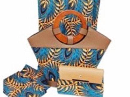 Ankara Tote Bags and Clutch