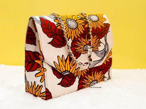 Ankara Print Cross Shoulder Bag