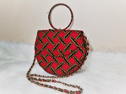 Red & Black Cross Shoulder Bags