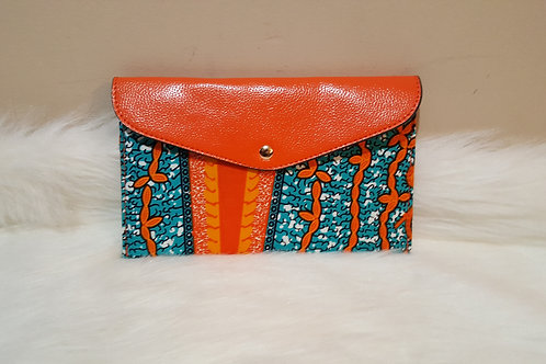 Multi-Colored Ankara Wallet