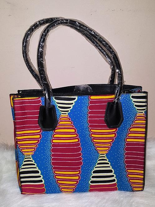 Multi Colored Handbag