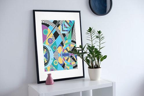"""""""Vortex"""" Fine Art Print"""