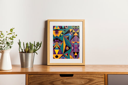 """Medula"" Fine Art Print"