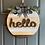 Thumbnail: Hello door hanger