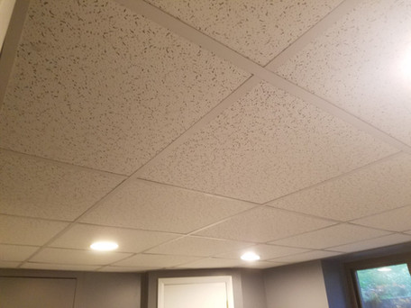 Melville NY, Drop Ceiling Panel Installation