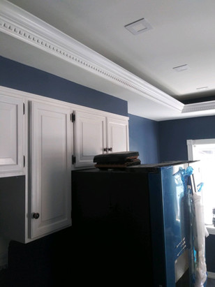 Commack NY - Lighted Crown Moulding Install
