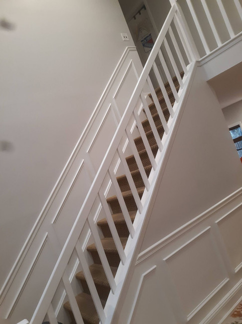 Melville New York, Staircase Painting