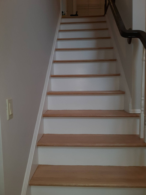 Melville NY, Staircase Paint Touch Up