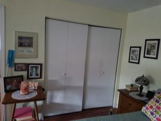 Islip NY, Bifold Closet Door Installation Before