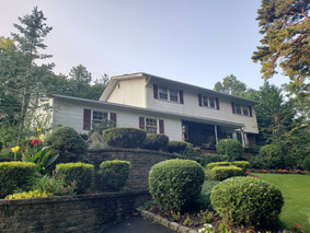 Smithtown NY, Exterior Painting Before