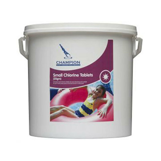 Small Chlorine Tablets 2kg