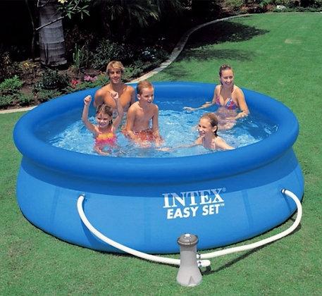 Intex 8 ft round easy set pool kit