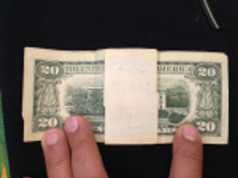 The US$20 bill