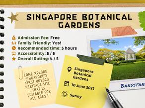 5 things to do at Singapore Botanic Gardens