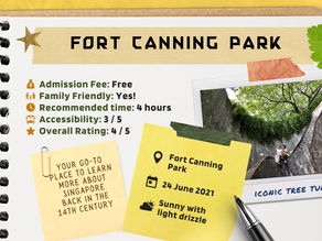 Guide to Fort Canning Park