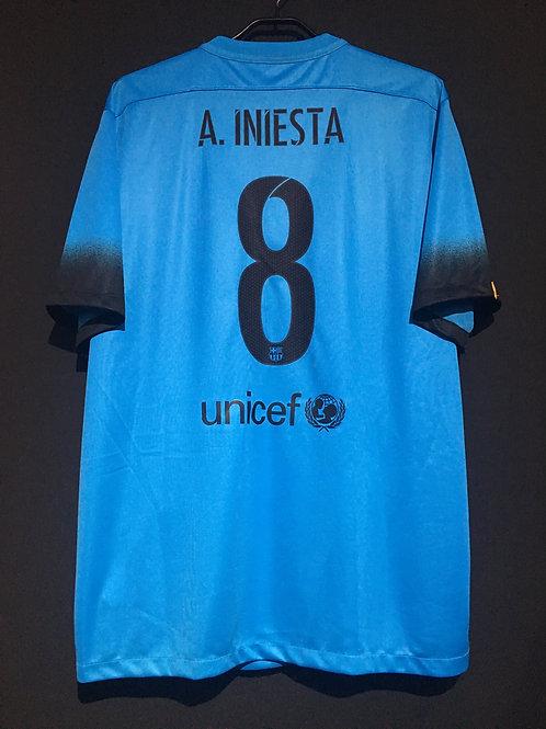 【2015/16】 / FC Barcelona / Away / No.8 A.INIESTA