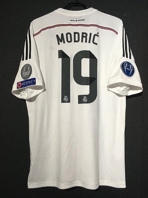 【2014/15】 / Real Madrid C.F. / Home / No.19 MODRIC / UCL