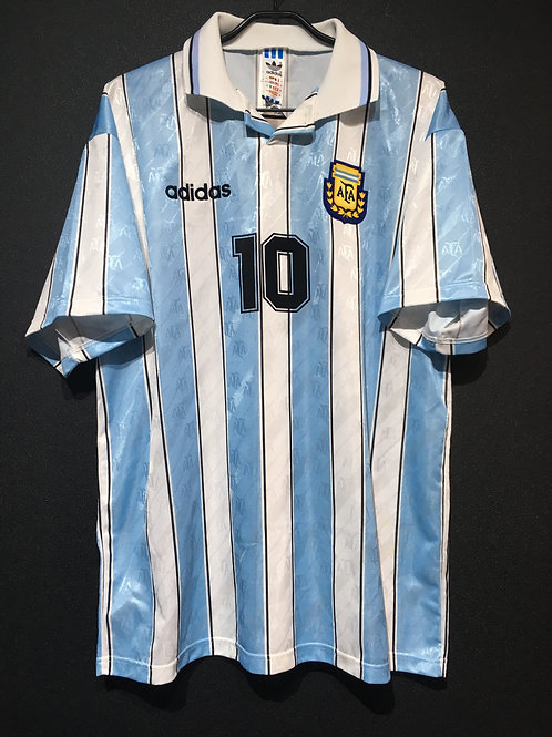 【1994】 / Argentina / Home / No.10 MARADONA / Made in England