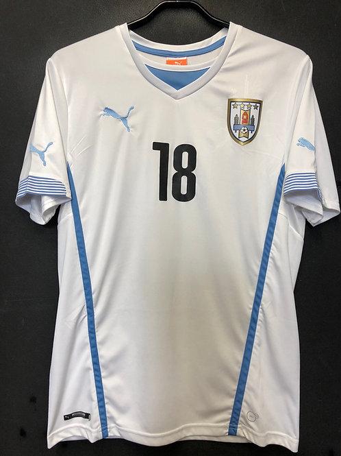 【2014/15】 / Uruguay / Away / No.18 G.RAMIREZ