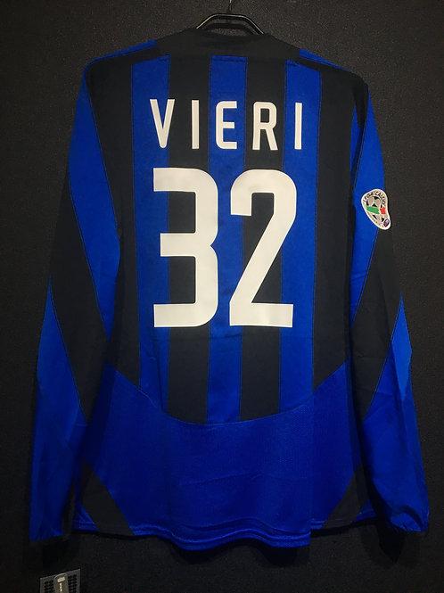 【2003/04】 / Inter Milan / Home / No.32 VIERI