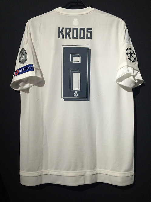 【2016】 / Real Madrid C.F. / Home / No.8 KROOS / UCL Final