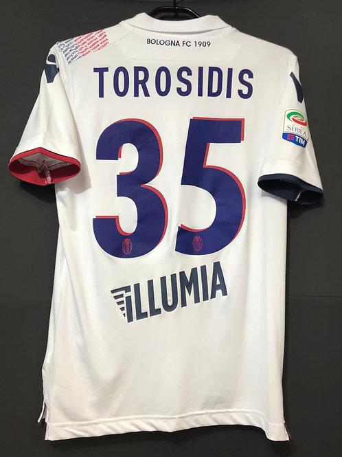 【2017/18】  / Bologna F.C. / Away / No.35 TOROSIDIS