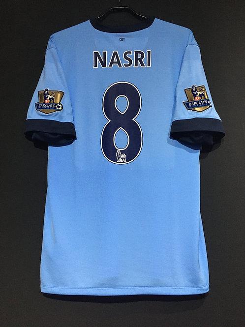 【2014/15】/ Manchester City / Home / No.8 NASRI