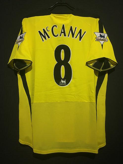【2003/04】 / Aston Villa / Away / No.8 McCANN