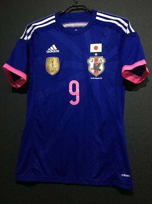 【2014/15】 / Japan Women's / Home / No.9 KAWASUMI / Authentic