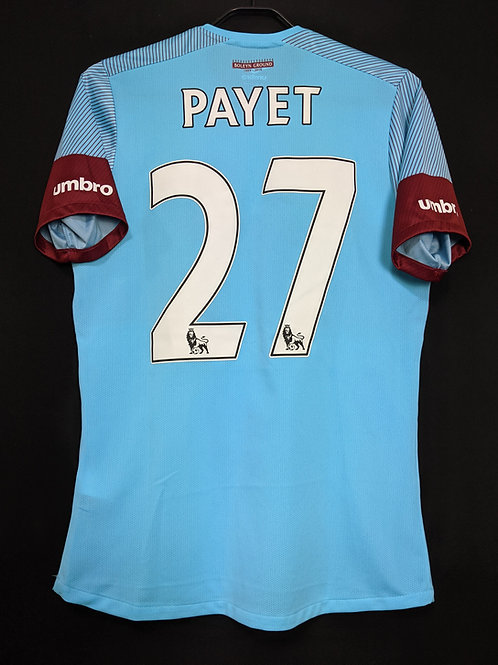 【2015/16】 / West Ham United F.C. / Away / No.27 PAYET