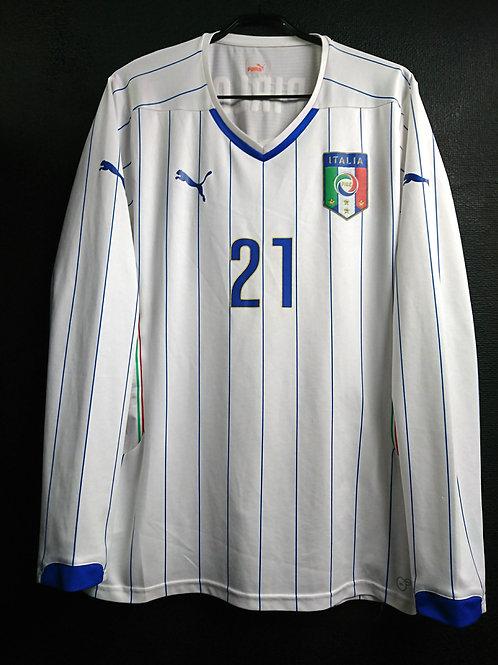 【2014】 / Italy / Away / No.21 PIRLO