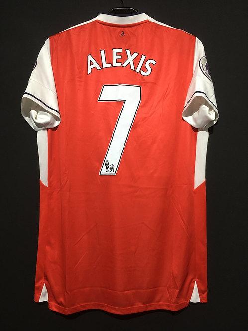 【2016/17】 / Arsenal / Home / No.7 ALEXIS