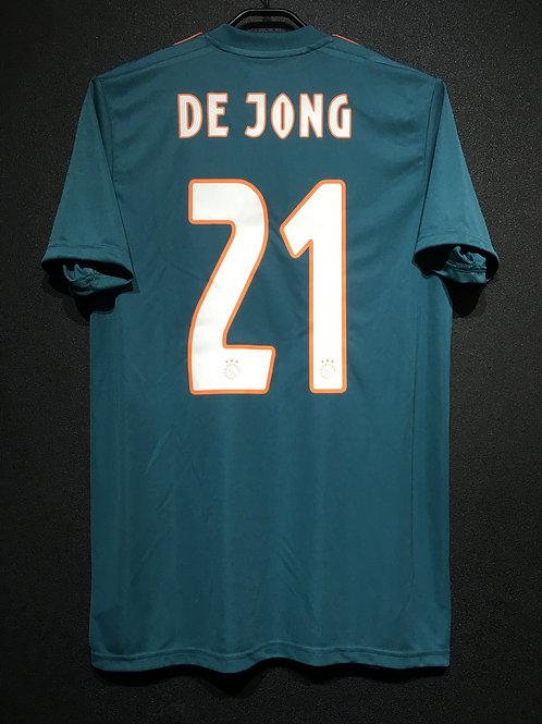 【2019/20】 / Ajax / Away / No.21 DE JONG