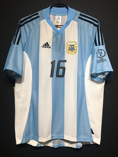 【2002】 / Argentina / Home / No.16 AIMAR / FIFA World Cup