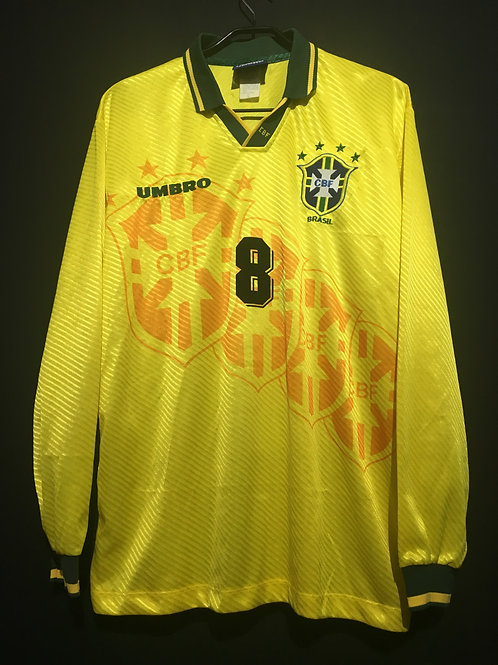 【1995/96】 / Brazil / Home / No.8 DUNGA