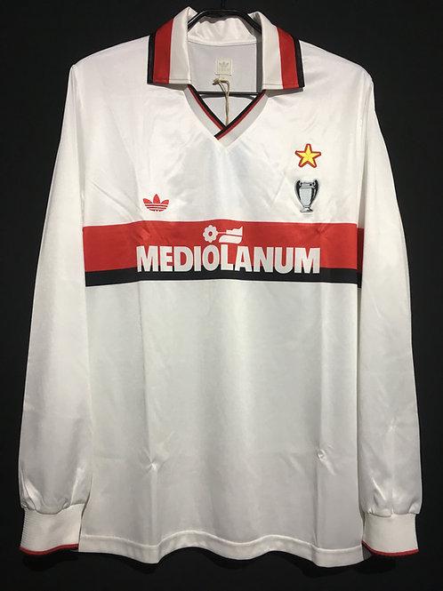 【1990/91】 / A.C. Milan / Away / Reproduction