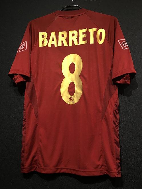 【2007/08】 / Reggina / Home / No.8 BARRETO