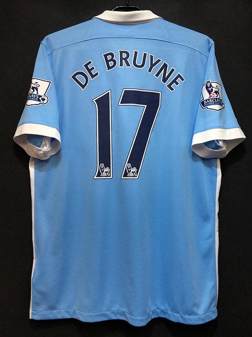 【2015/16】/ Manchester City / Home / No.17 DE BRUYNE