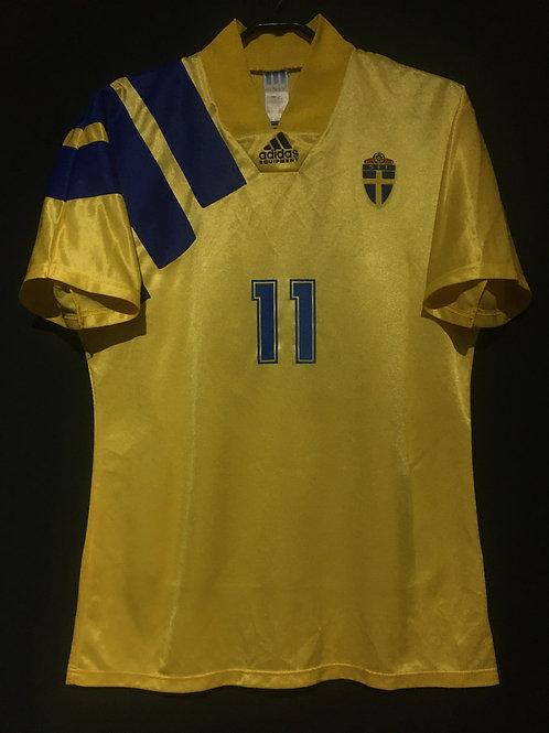 【1992/93】 / Sweden / Home / No.11 BROLIN / UEFA European Championship