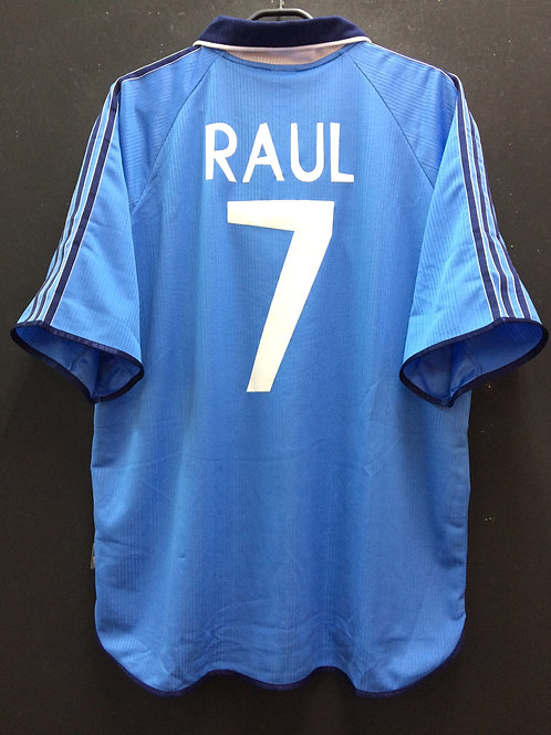 【1999/2000】 / Real Madrid C.F. / Away / No.7 RAUL