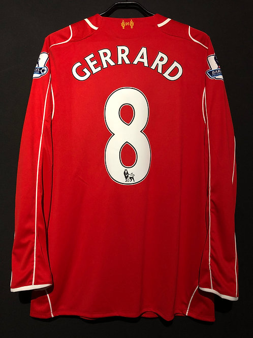 【2014/15】 / Liverpool F.C. / Home / No.8 GERRARD