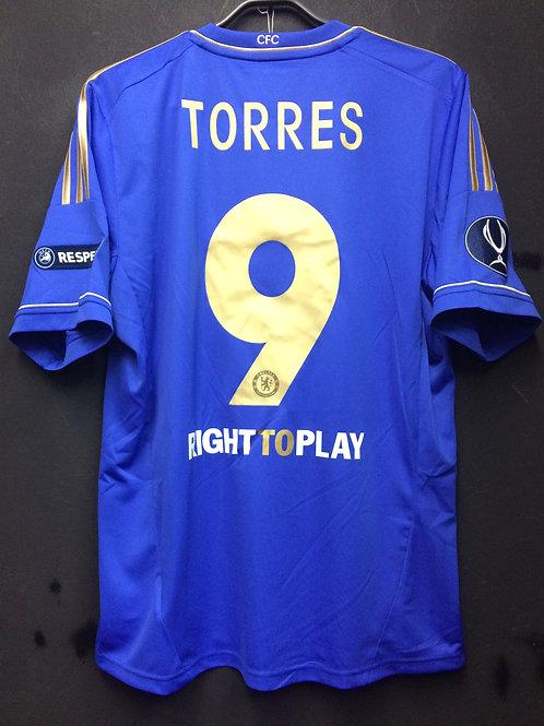 【2012】 / Chelsea / Home / No.9 TORRES / UEFA Super Cup