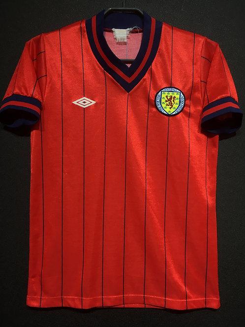 【1982/85】 / Scotland / Away