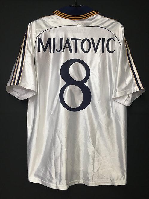 【1998/99】 / Real Madrid C.F. / Home / No.8 MIJATOVIC